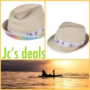 🌸✨ volcom women's kaleidoscope fedora hat ✨🌸